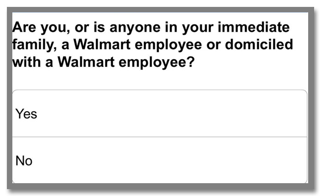 """世界最大のスーパーマーケットチェーン""""Walmart(ウォルマート)""""のギフトカードが当たるアンケート調査キャンペーン_5枚目"""