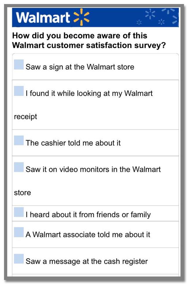 """世界最大のスーパーマーケットチェーン""""Walmart(ウォルマート)""""のギフトカードが当たるアンケート調査キャンペーン_32枚目"""