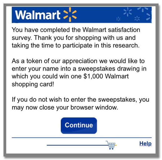 """世界最大のスーパーマーケットチェーン""""Walmart(ウォルマート)""""のギフトカードが当たるアンケート調査キャンペーン_42枚目"""