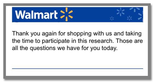 """世界最大のスーパーマーケットチェーン""""Walmart(ウォルマート)""""のギフトカードが当たるアンケート調査キャンペーン_43枚目"""