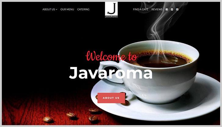 Javaroma (カナダ/カフェ・ケータリング)
